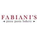 Fabiani's Pizza Pasta Bakery Menu