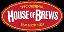 House of Brews Menu