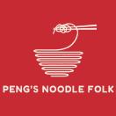 Peng's Noodle Folk Menu
