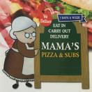 Mamas Pizza & Sub Menu