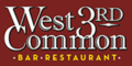 West 3rd Common Menu