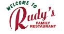 Rudy's Family Diner Menu
