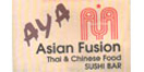 Aya Asian Fusion Menu