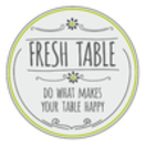 Fresh Table Menu