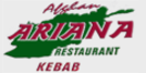 Ariana Afghan Restaurant Menu