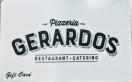 Gerardo's Pizzeria Restaurant Menu