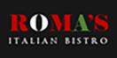 Roma's Italian Menu