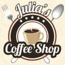 Julia's Coffee Shop Menu