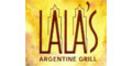 Lala's Argentine Grill Menu