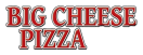 Big Cheese Pizza Menu