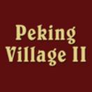 Peking Village II Menu