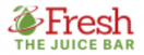 Fresh the Juice Bar Menu