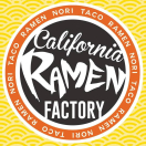 California Ramen Factory Menu