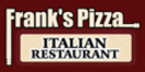 Frank's Pizza Menu