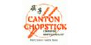 Canton Chopstick Menu