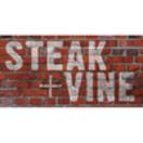 Steak + Vine Menu