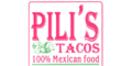 Pili's Tacos Menu