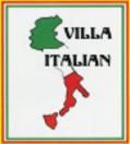 Villa Italian Menu