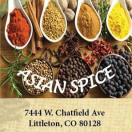 Asian Spice Menu