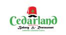 Cedarland Bakery & Restaurant Menu