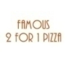 Famous 2 For 1 Pizza Menu
