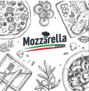 Mozzarella Fusion Menu