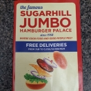 Sugarhill Jumbo's Hamburger Palace Menu