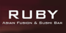 Ruby Asian Fusion and Sushi Bar Menu