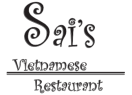 Sai's Restaurant Menu