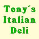 Tony's Italian Deli Menu