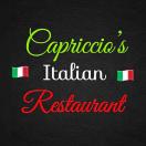 Capriccios Pizzeria & Ristorante Menu