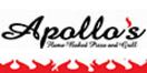 Apollo's PIZZA Menu