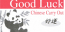 Good Luck Chinese Menu