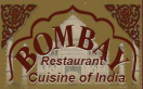 Bombay Restaurant Cuisine of India Menu