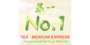 No. 1 Tex-Mexican Express Menu