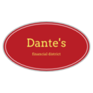 Dante's New York Menu