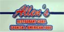 Allen's Restaurant Menu