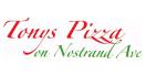 Tony's Pizza on Nostrand Menu