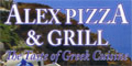 Alexandria Pizza Menu