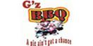 G'z BBQ Menu