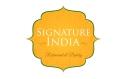 Signature India Menu
