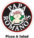 Papa Romano's Pizza Menu