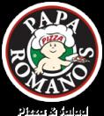 Papa Romano's Pizza Menu