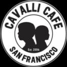 Cavalli Cafe Menu