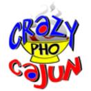 Crazy Pho Cajun Menu