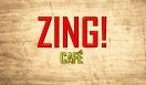Zing Cafe Menu