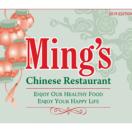 Ming Chinese Restaurant Menu