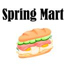 Spring Mart  Menu
