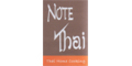 Note Thai Menu