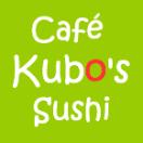 Cafe Kubo's Sushi Menu